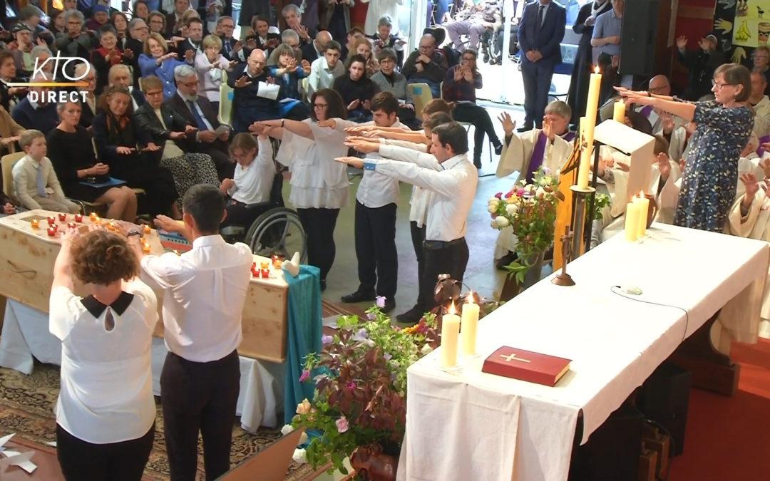 Jean Vanier begraven