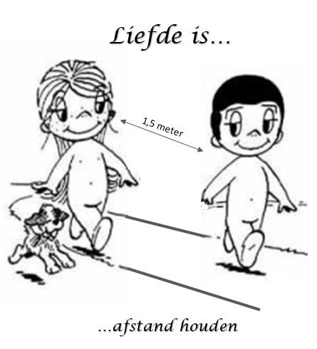 Liefde is = Afstand houden