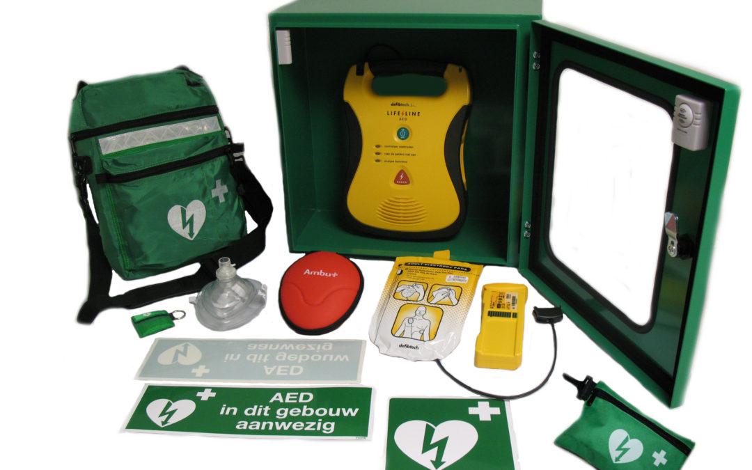 SPAAR MEE VOOR EEN AED