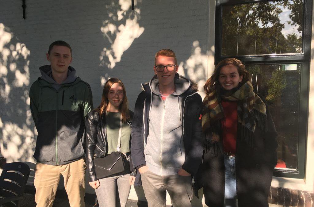 Vier nieuwe vrijwilligers